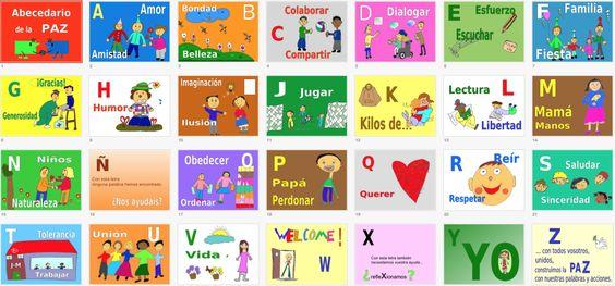 abecedario de la paz