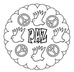 mandala de la paz
