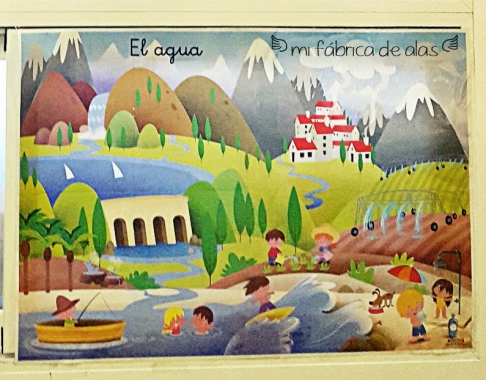 mural del agua
